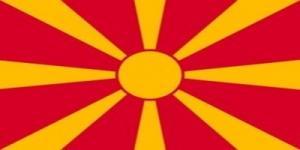国旗:マケドニア