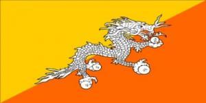 国旗:ブータン