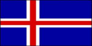 国旗:アイスランド