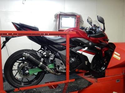 GSX250R    スリップオン開発日記 (11)