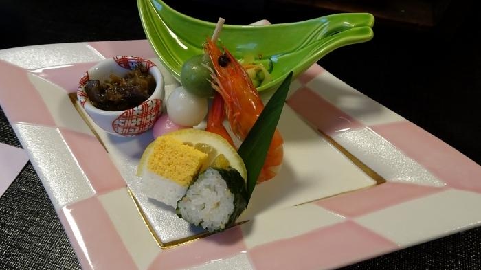 湯の本食事 (2)