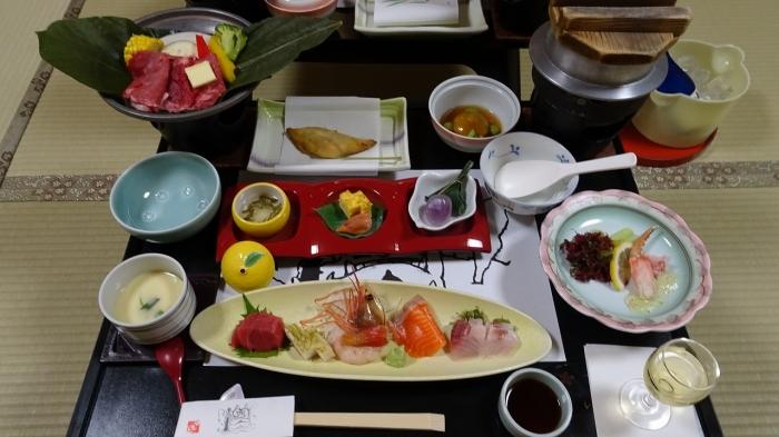 ゆもと登別食事 (1)