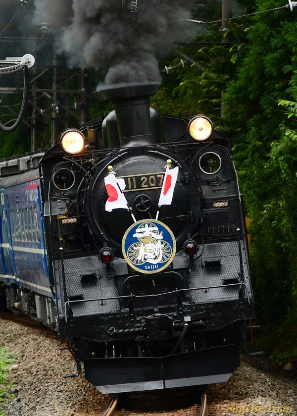 SL大樹 祝賀列車 東武ワールドスクウェア 鬼怒川温泉
