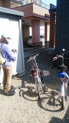 自宅自転車