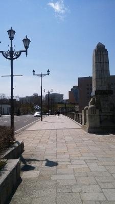 幣舞橋5月