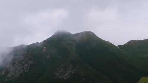 斜里岳8月新道から山頂