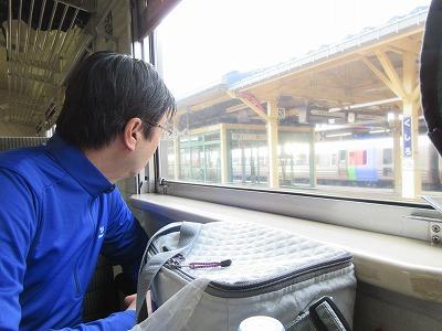釧路駅(車窓)