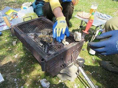 厚岸桜牡蠣祭り1