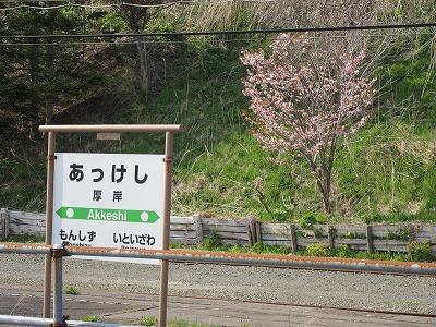 花咲線厚岸駅3