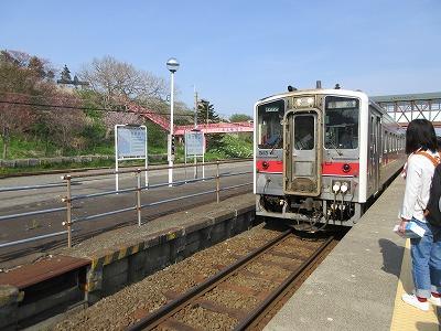 花咲線厚岸駅2
