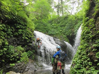 クテクンベツ滝2