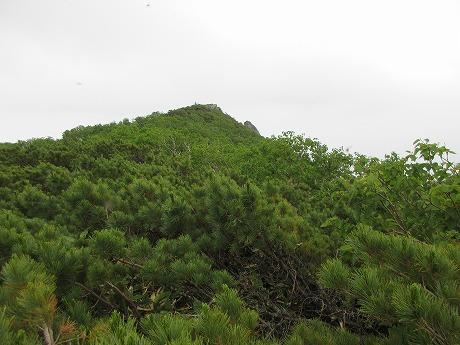 クテクンベツ岳