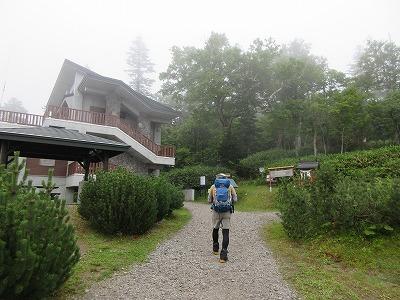 斜里岳8月清岳荘