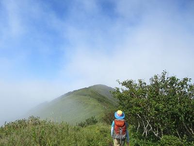 西別岳登山道4
