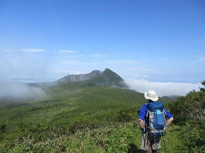 又牛別岳から摩周岳(9月)2