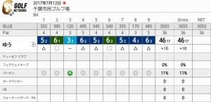 20170712-1-千葉市民ゴルフ場