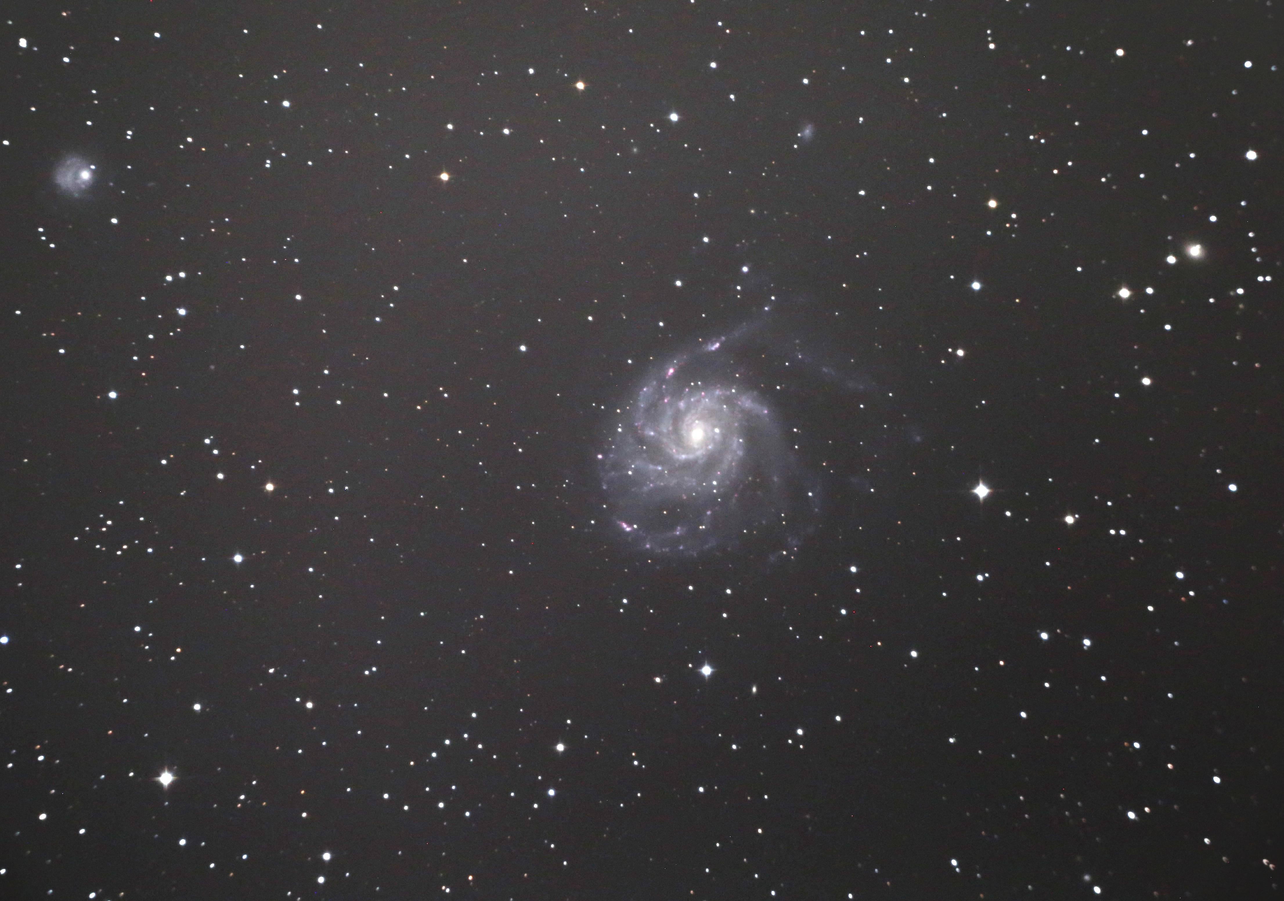 M101渦巻き銀河20170226
