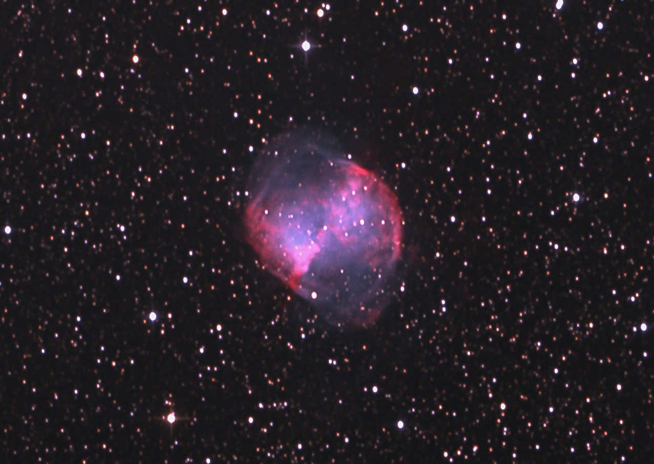 M27 ダンベル星雲