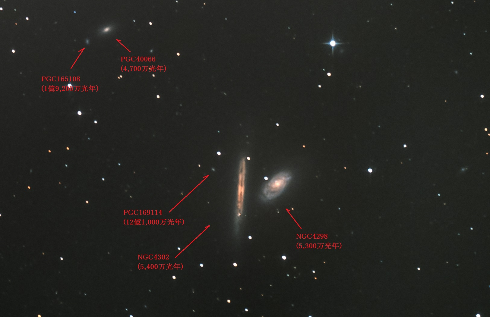 NGC4298 4302名称