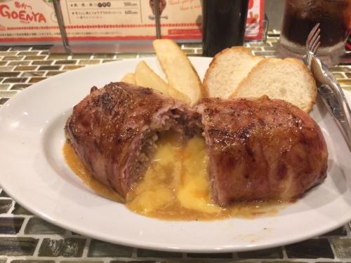 串かつGOENYA 名物ベーコンエクスプロージョンチーズ