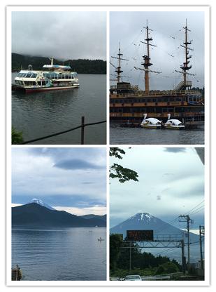 芦ノ湖周辺と富士山