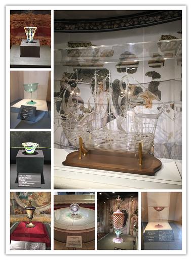 ガラスの森展示