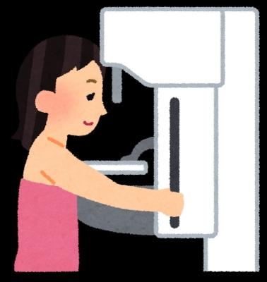 乳がん検査・マンモグラフィのイメージ画像
