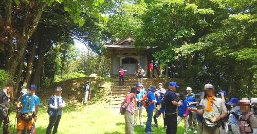 石動山ウォーキングR (5)