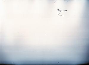 ジェシカ・アルバ鉛筆画似顔絵途中経過