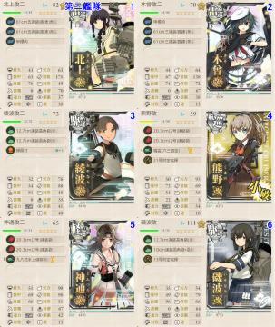 艦これ夏イベ2017E3戦力2