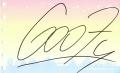 グーフィーのサイン