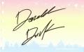 ドナルドのサイン