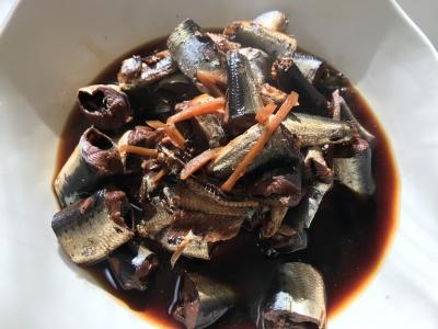 マイワシの生姜煮