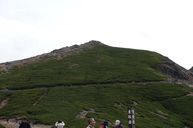 3 乗鞍 富士見岳方面 14%