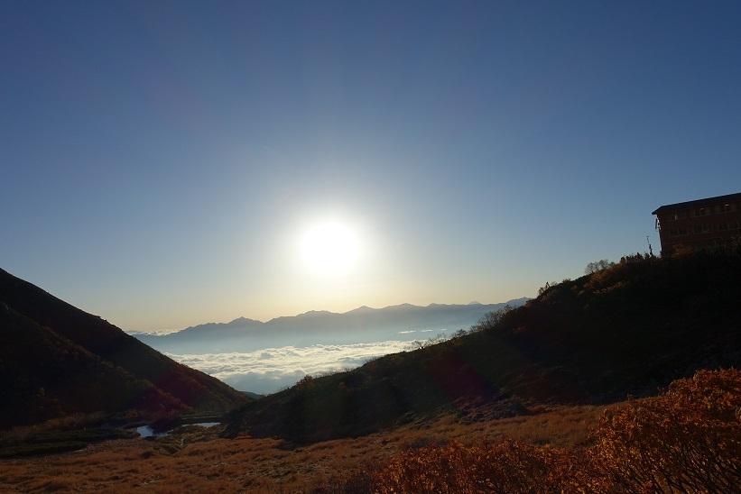 4 千畳敷カールからの富士山 15%