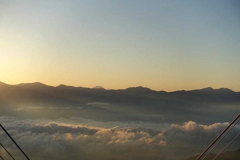 2 千畳敷駅からの富士山-2 15%