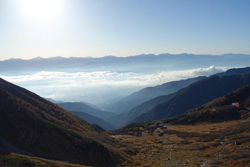 6 千畳敷カールからの富士山-3 15%