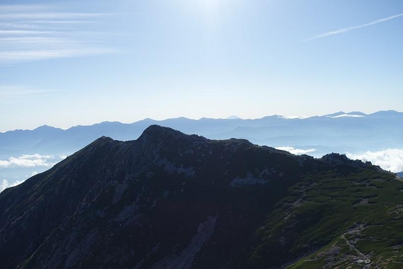 9 中岳からの富士山 15%