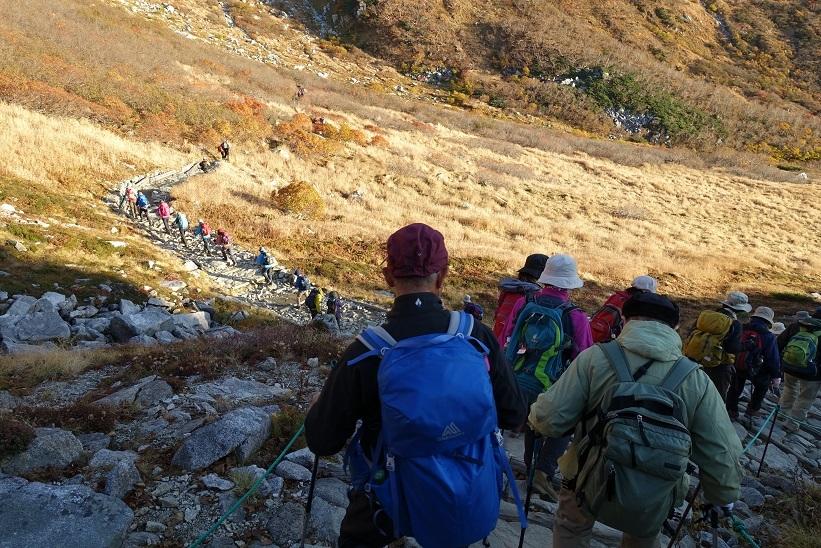 3 木曽駒へ登山開始 15%