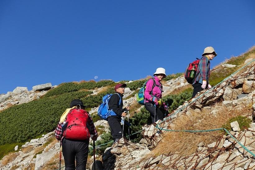 11 八丁坂の急登の最後‐6 15%