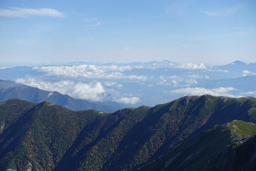 15 木曽駒頂上からの雲海 15%