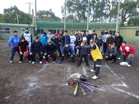 野球教室4