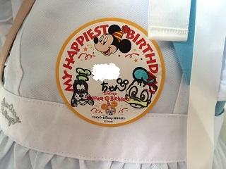 ディズニーお誕生日