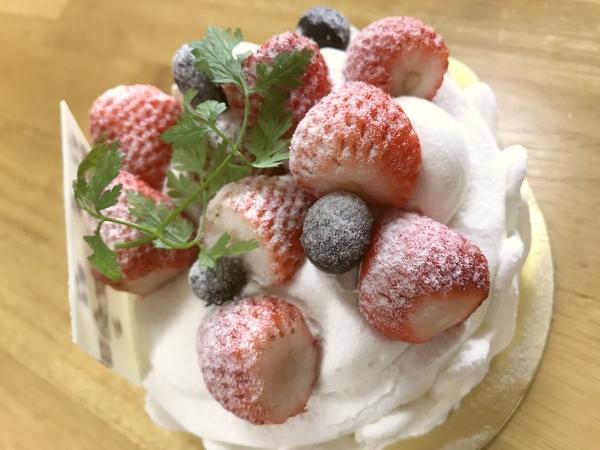 ガトー・ラ・フォセット 結婚記念日ケーキ201705 (3)