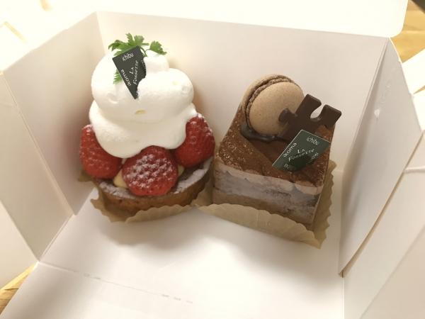 ガトー・ラ・フォセット 結婚記念日ケーキ201705 (5)