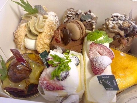 ガトー・ラ・フォセット 結婚記念日ケーキ201705 (9)