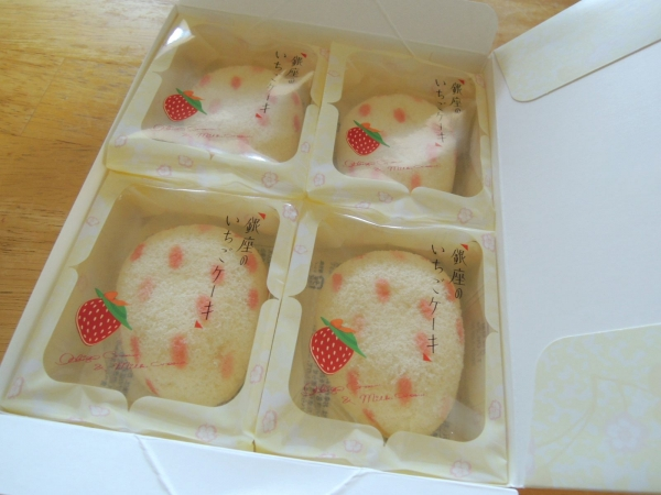 銀座のいちごケーキ (東京ばな奈ワールド) (3)