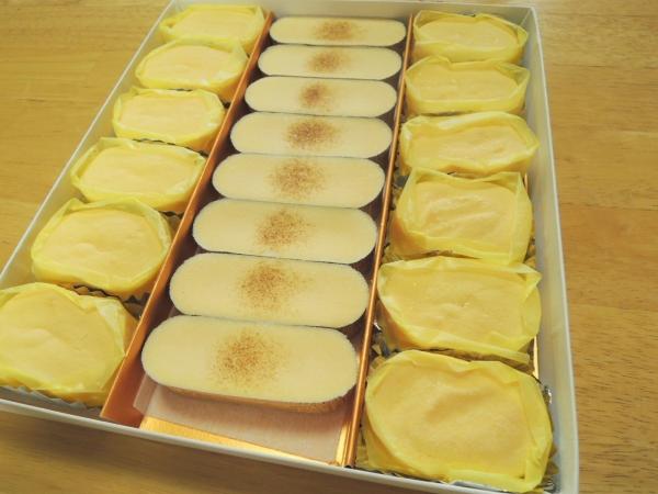 ラグノオ 窯出し半熟チーズケーキとチーズブリュレ (2)
