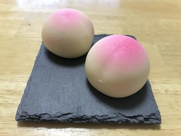 銘菓 岡山のもも 白桃 (4)