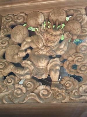 松尾寺・雷神